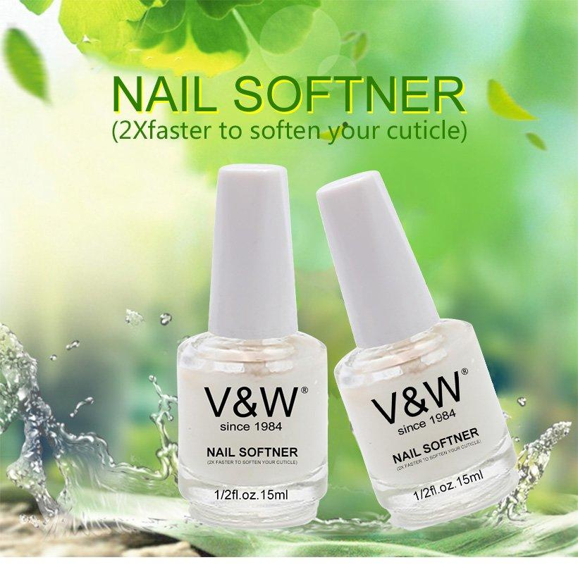 VW coat white gel nail polish esay remove for office-1