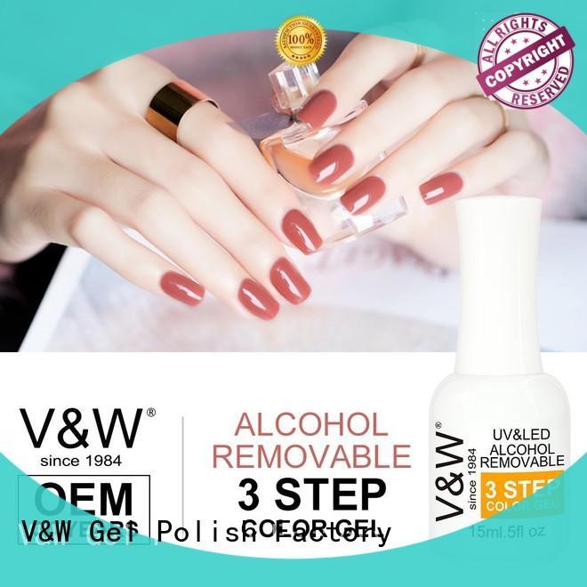 VW 30ml uv cured nail polish for shopping