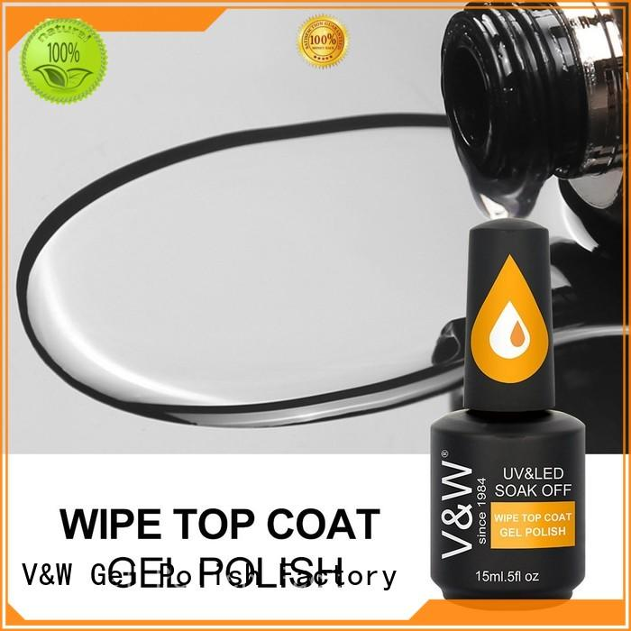 shatter paint steeless VW Brand UV Gel Polish Wholesale manufacture