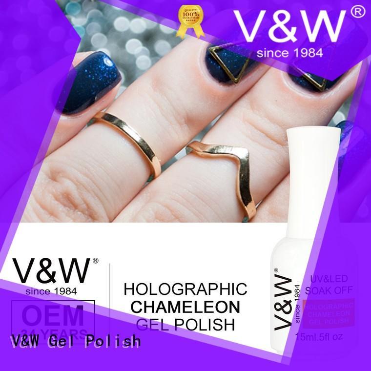VW more uv cured nail polish varnish for party