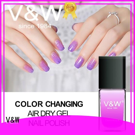 VW holographic uv gel nail salon eco friendly for home