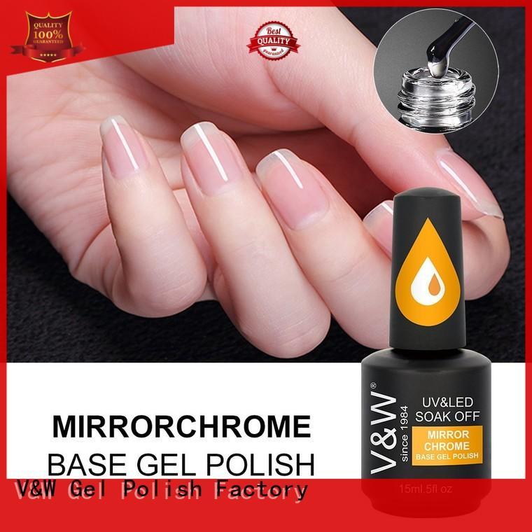 Hot led UV Gel Polish Wholesale pigment VW Brand
