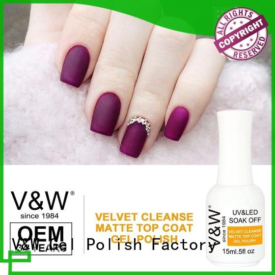 VW quick dry led nail varnish eco friendly for evening party