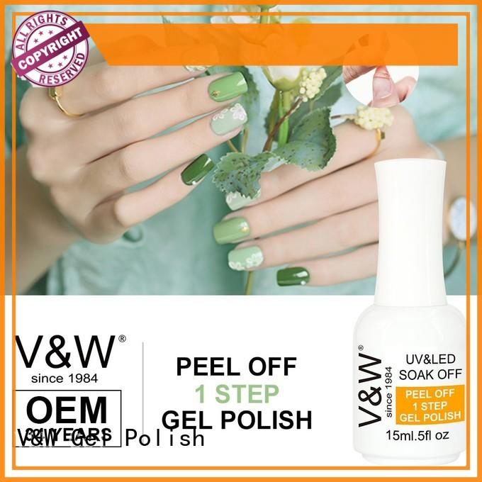 VW super nail polish factory mood changing for party