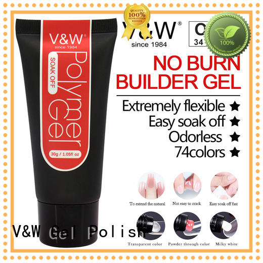 three fabric solution OEM Gel Polish Wholesale VW