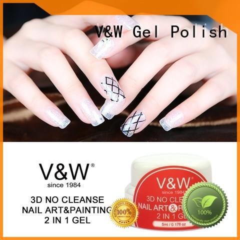 VW acid) uv gel polish varnish for evening party