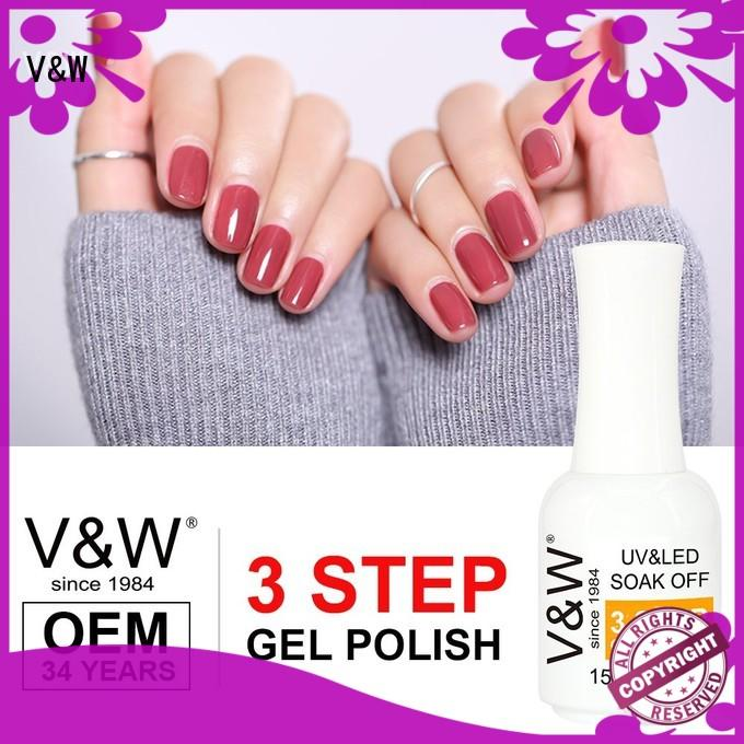 VW glitter best uv gel polish eco friendly for home