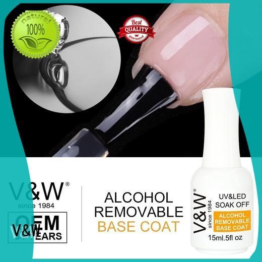 VW metallic uv cured nail polish manufacturer for shopping