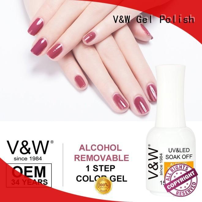 VW Brand chameleon quick UV Gel Polish Wholesale matte supplier