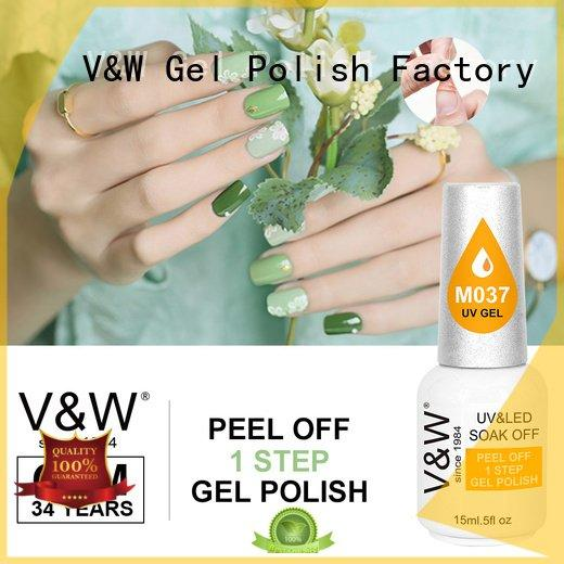 UV Gel Polish Wholesale peel led no color VW