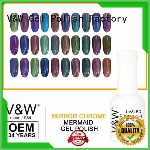 odorless uv led gel polish mood changing for evening party
