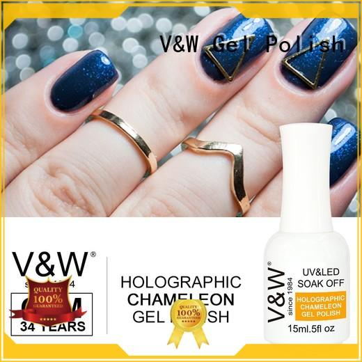 VW painting uv gel set nails mood changing for home
