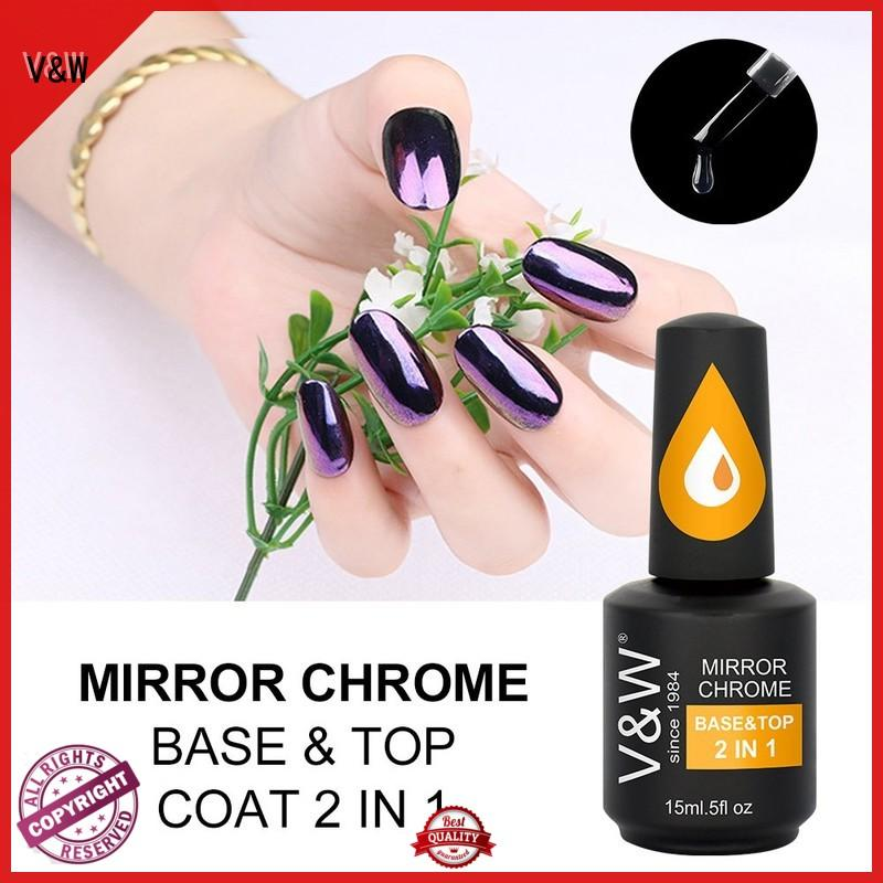 VW peacock best natural nail polish for wedding