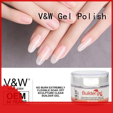 VW odorless uv nail paint eco friendly for home