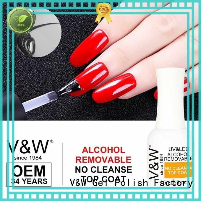 paints rubber designs VW Brand UV Gel Polish Wholesale factory
