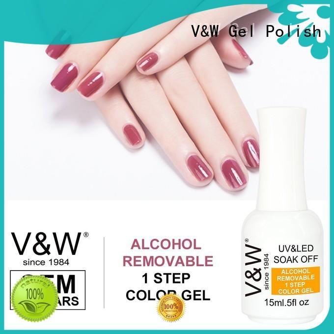 VW 15ml gel nail polish for uv lamp manufacturer for office