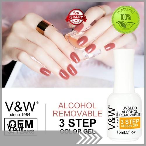 VW Brand crystal mermaid Gel Polish Wholesale slip factory