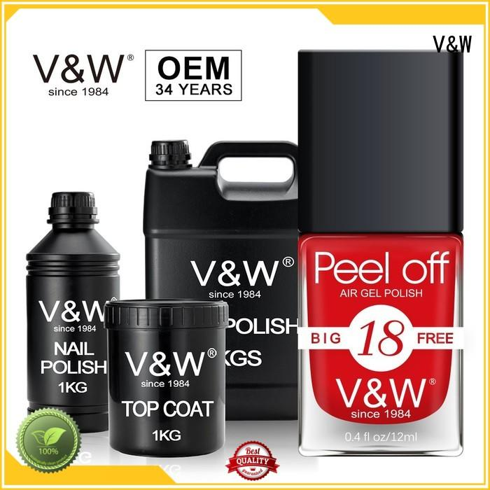 VW peel off gold gel nail polish eco friendly for home