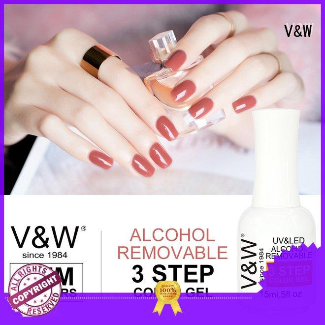 VW Brand air holographic mermaid UV Gel Polish Wholesale